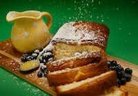 Elderflower Poundcake using Lemon and Elderflower Curd(Tom Fox/Staff Photographer)