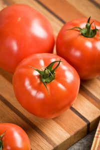 The 'Celebrity' tomato is a mid-early determinate variety that starts producing in about 70 days from transplant.(All-America Selections)