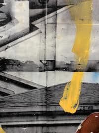 Leo Gabin's <i>Arch in Ya Back</i>, 2014 (detail).(Nan Coulter)