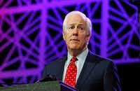 "<p><span style=""font-size: 1em; background-color: transparent;"">Incumbent Sen. John&nbsp; Cornyn is stockpiling cash and interacting with his base to prepare for a race against Joaquin Castro -- or any other Democrat that may emerge as his rival.</span></p>(2016 File Photo/Tribune News Service)"