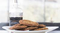 Chocolate chip cookies are made with at Bullion restaurant in Dallas.(Daniel Carde/Staff Photographer)