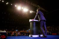 U.S. Representative Beto O'Rourke speaks during the Texas Democratic Convention on Friday, June 22, 2018 at the Fort Worth Convention Center in Fort Worth. (Ashley Landis/The Dallas Morning News)(Ashley Landis/Staff Photographer)