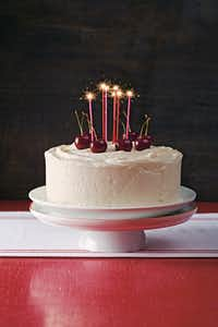 The Southern Diner Cake is a vanilla cake with vanilla icing in 'Cake Magic!' Workman Publishing.(Ken Carlson/Cake Magic! Workman Publishing)