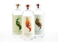 Seedlip distilled nonalcoholic spirits(Tom Fox/Staff Photographer)