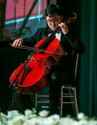 Greater Dallas Youth Orchestra cellist Bryan Han.(TACA)