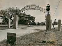 Dallas Naval Air Station's Hensley Field in the 1930s.(File Photo)