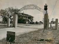 Dallas Naval Air Station's Hensley Field in the 1930s. (File Photo)