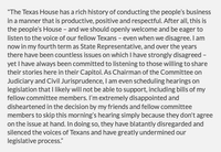 Statement by Rep. Jeff Leach, R-Plano