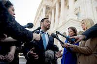 "<p><span style=""font-size: 1em; background-color: transparent;"">Rep. Joaquin Castro, D-Texas, said President Donald Trump's national emergency declaration at the U.S.-Mexico border is an ""act of constitutional vandalism."".</span></p>(Andrew Harnik/The Associated Press)"