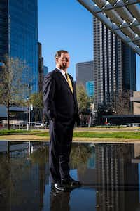 Dallas Mayor Mike Rawlings photographed outside the Winspear Opera House in the Dallas Arts District on March 21, 2019.(Smiley N. Pool/Staff Photographer)