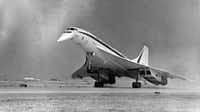 The supersonic airliner Concorde set down on American soil for the first time in 1973, making its debut in preparation for the dedication of Dallas-Fort Worth Airport.(File Photo/The Dallas Morning News)
