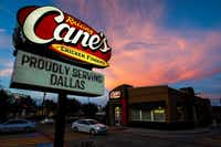 Raising Cane's leased a site in Wynnewood Village.(Smiley N. Pool/Staff Photographer)