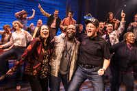 A scene from <i>Come from Away</i>, the Broadway touring musical headed to Dallas.(Dallas Summer Musicals)