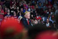 <p>President Donald Trump will leave a decades-long imprint on the federal judiciary in Texas, no matter if he wins re-election next year.</p>(Nicholas Kamm/AFP/Getty Images)