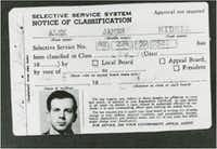 Fake ID carried by Lee Harvey Oswald showing his name as Alek James Hidell(Courtesy of University of North Texas Digital Archives)
