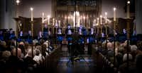 """<p><span style=""""font-size: 1em; background-color: transparent;"""">Members of the new professional chamber choir Incarnatus perform at Church of the Incarnation in Dallas on March 29, 2019.</span></p>(Robert W. Hart/Special Contributor)"""