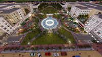 <p>Centurion Development's plans to redevelop the Collin Creek Mall site include a Crystal Lagoon water feature.</p>(Centurion Devleopment)