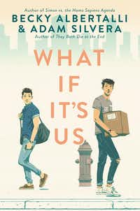 YA authors Becky Albertalli and Adam Silvera co-wrote 2018's <i>What If It's Us</i>.(HarperTeen)