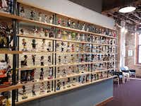 The National Bobblehead Hall of Fame and Museum has more than 6,500 items in its collection. (National Bobblehead Hall of Fame/Tribune News Service)