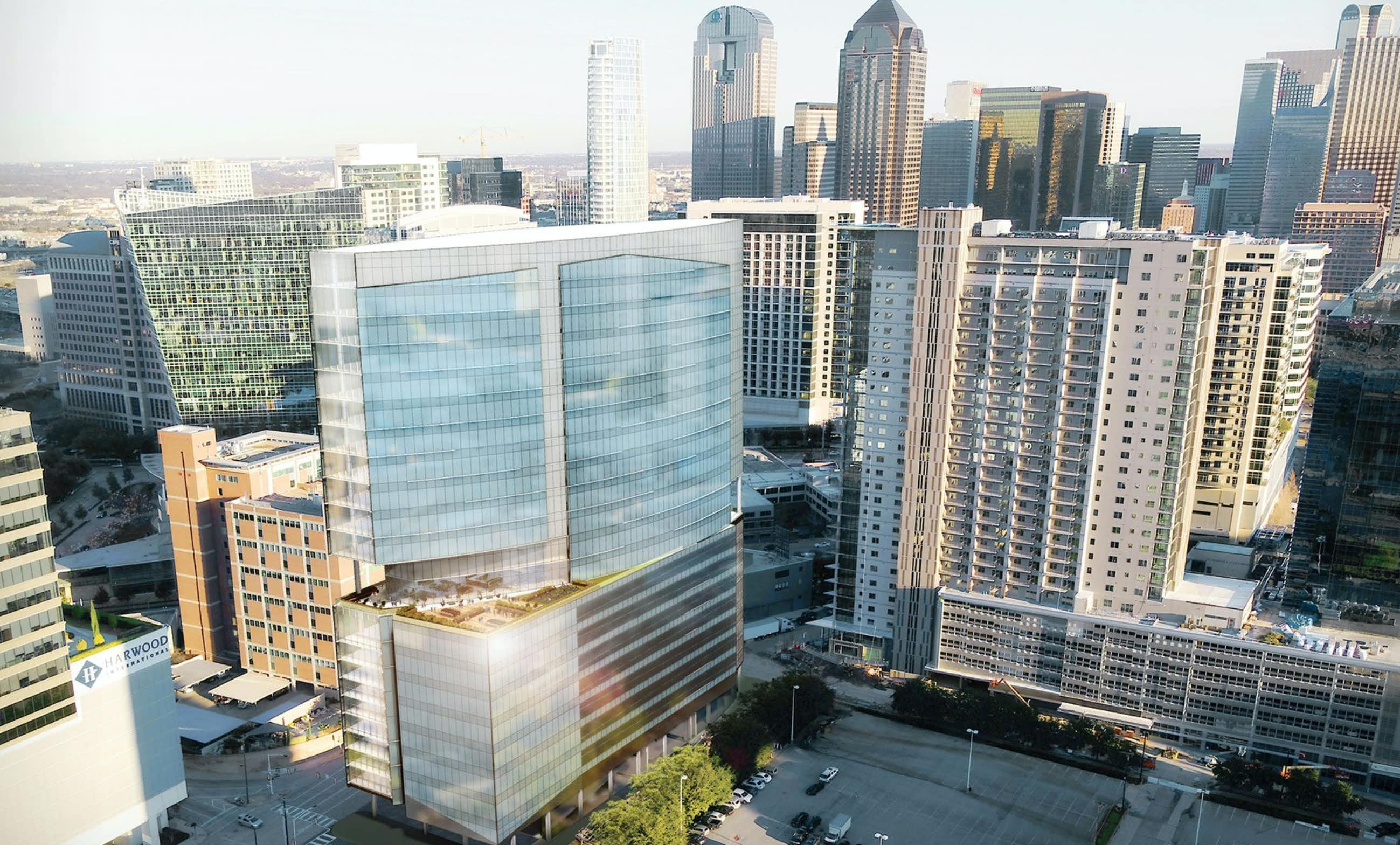 Uptown Dallas' next tower is financed and starting work