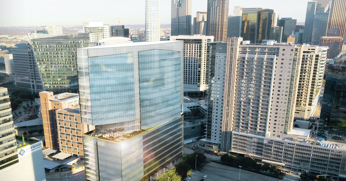 New tower project kicking off in Dallas' booming Uptown district...