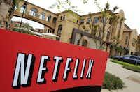 The exterior of Netflix headquarters in Los Gatos, Calif.(Paul Sakuma/AP)