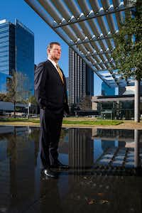 Dallas Mayor Mike Rawlings outside the Winspear Opera House in the Arts District(Smiley N. Pool/Staff Photographer)