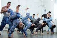 Victor Quijada's Canadian company Rubberbandance Group mashes up ballet with breakdancing.(Mat Doyon)