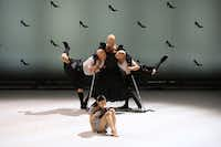 Malandain Ballet Biarritz in Thierry Malandain's <i>Cendrillon</i>, which was originally scheduled to be performed during TITAS' 2014-15 season but the sets never arrived from France.(Olivier Houeix)