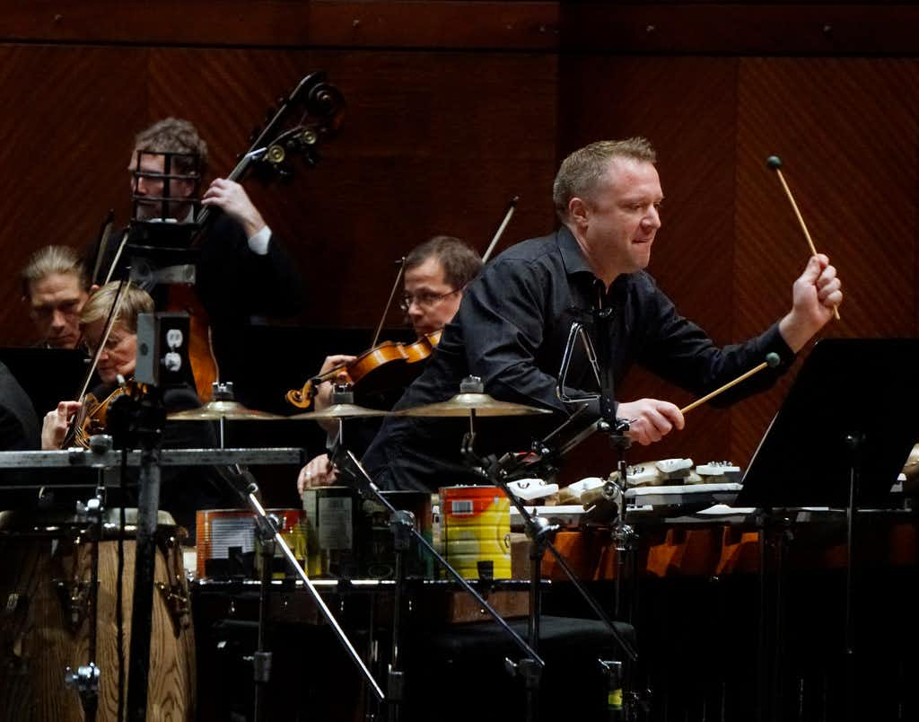 Fort Worth Symphony performs a percussion concerto by Andrew Norman and a Bohuslav Martinu symphony