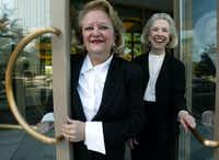 Virginia Cook and Shiela Rice founded Virginia Cook Realtors 20 years ago and grew to six D-FW offices.(DMN files)