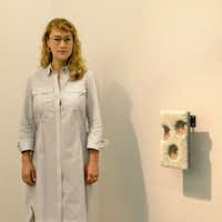 Olivia Smith, director of Magenta Plains gallery in New York City, is a former Dallasite who will mark her second year at Dallas Art Fair .(Nan Coulter/Special Contributor)