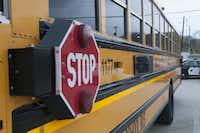 Dallas County Schools spent millions on bus cameras that were not used and that bankrupted the agency. (Rex C. Curry/Special Contributor)