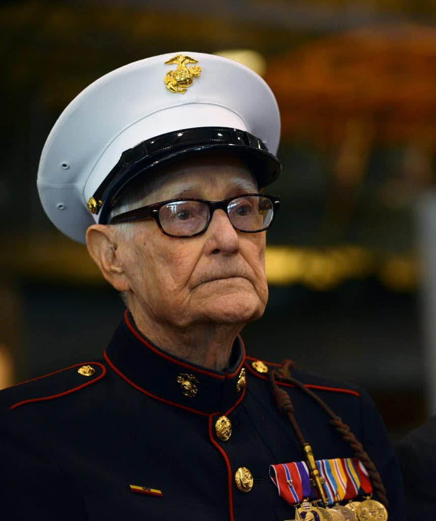 R.V. Burgin, author and Lancaster Marine portrayed in HBO's 'The Pacific,' dies at 96