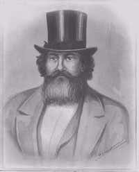 Samuel Pryor was Dallas' first mayor and also one of the town's first physicians.(Dallas Historical Society)