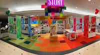 Story shop inside the Macy's at NorthPark Center. It's located on the first level at the entrance from Park Lane in Dallas. (Tyler Bennett/Macy's )