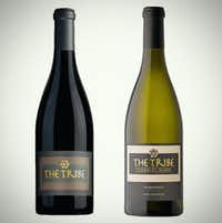The Tribe Red Blend and Chardonnay, kosher wines(Alfonso Cevola/Special Contributor)