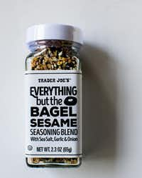 Everything But the Bagel Sesame Seasoning Blend from Trader Joe's(Rebecca White/Special Contributor)