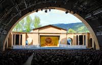The amphitheater for the Passion Play in the German town of Oberammergau can hold up to 4,600 people.(Foto Kienberger/Passionsspiele Oberammergau)