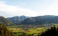 The German town of Oberammergau is near the Bavarian Alps, about 55 miles southwest of Munich. (Florian Wagner/Ammergauer Alpen GmbH)