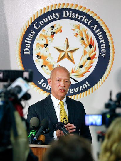 In Texas Questions About Prosecuting >> Texas Police Union Calls For Dallas Da S Removal Over His Plan Not