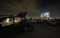 """The movie <i>Inferno</i>starring Tom Hanks was shown at the Coyote Drive-In in Lewisville on Oct. 29, 2016. The Lewisville location closed last fall """"until further notice.""""(File Photo/Staff Photographer)"""