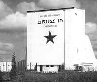 FILE-- Northwest Highway Drive-In Theater, undated.(Staff/The Dallas Morning News)