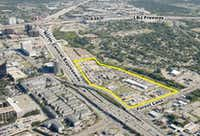 Westmount Realty Capital LLC purchased these 27 acres formerly the site of the Gemini Drive-in Theater in 2006.(Westmount Realty Capital)