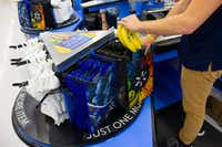 Walmart will add reusable bags to its checkout carousels for customer purchase in all its stores in May.(Courtesy photo/Walmart)