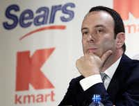 Sears Holdings Corp. is suing its former chairman and largest shareholder Eddie Lampert, alleging the billionaire stripped the once iconic company of more than $2 billion in assets. The lawsuit was filed April 17.(Gregory Bull/The Associated Press)