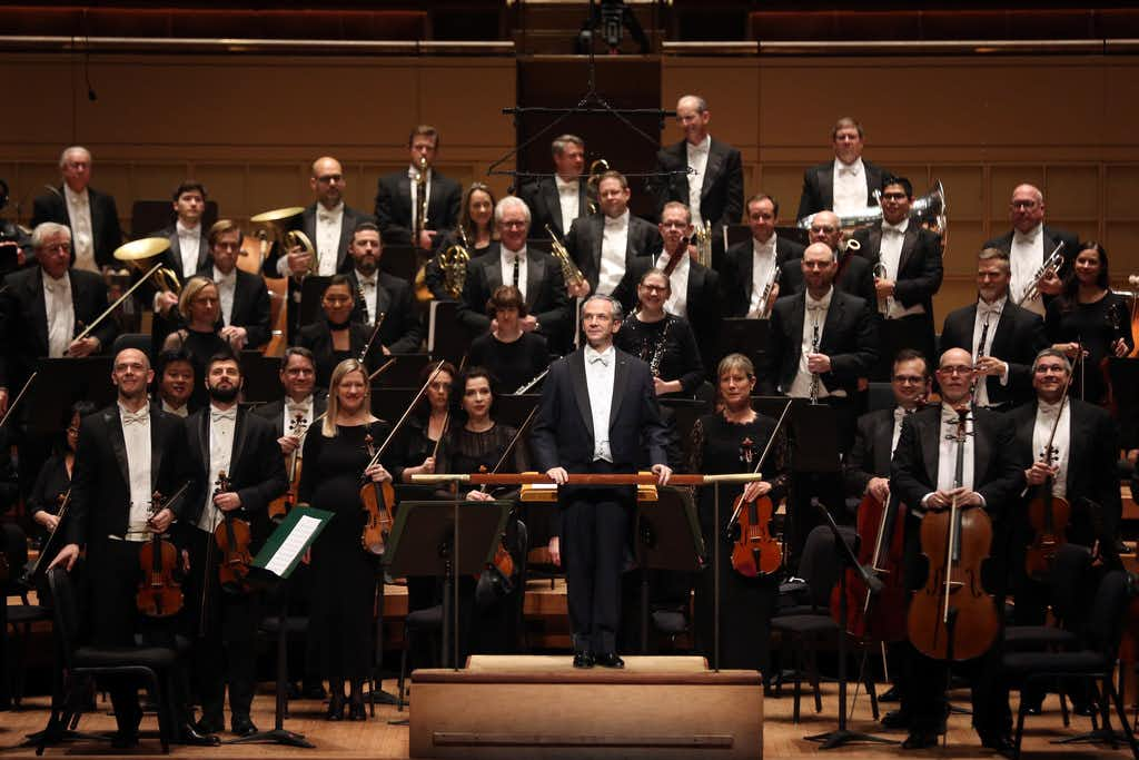 Fabio Luisi got passionate playing in his only appearances this season with Dallas Symphony Orchestra