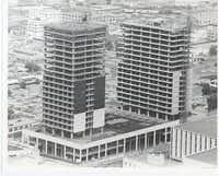 Originally called Cary Plaza, the Fairmont Dallas sat unfinished for more than four years before it was completed by San Francisco's Swig family.(DMN/)