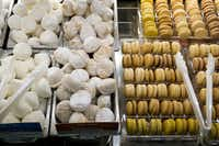 Macarons & Mochi Bar at the new Tom Thumb at the Union on Wednesday, April 10, 2019, in Dallas. (Smiley N. Pool/The Dallas Morning News)(Smiley N. Pool/Staff Photographer)