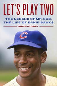 <i>Let's Play Two: The Legend of Mr. Cub, the Life of Ernie Banks </i>is one of two new books about the Cubs legend.&nbsp;(Hachette/Handout)